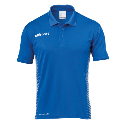 Score Polo Shirt Azure / White